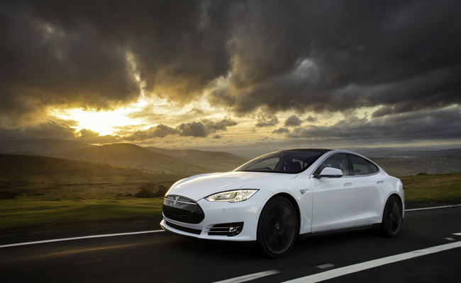 Tesla Model S highlights the strive for technological development in the automotive industry.