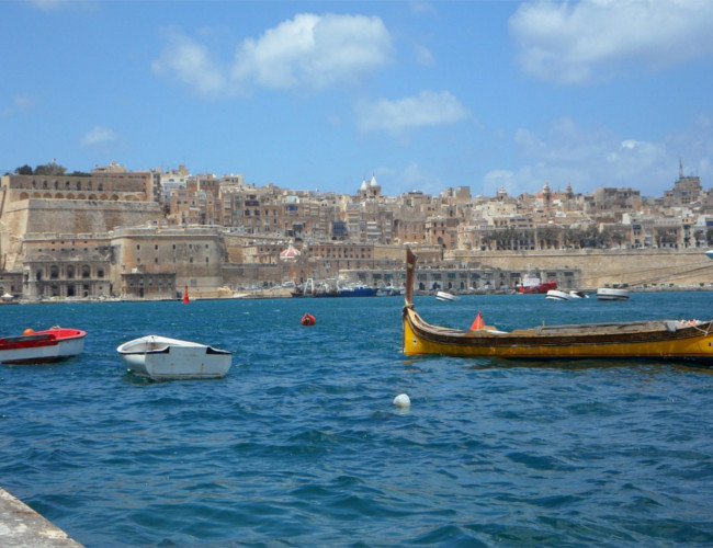 The sea and city of Malta. Image Credit: pixabay.com.