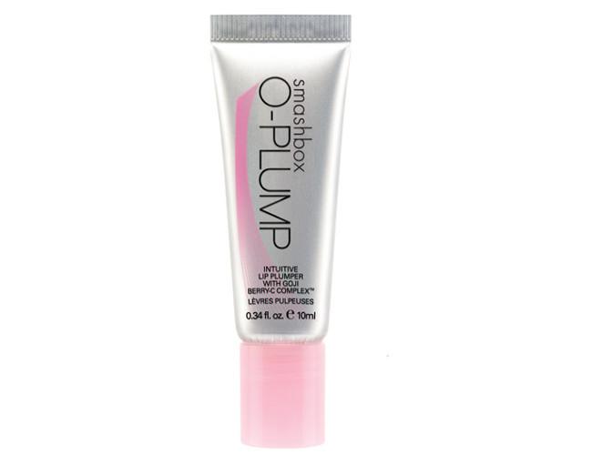 For fuller lips use Smashbox's O-plump Intuitive Lip Plumper.