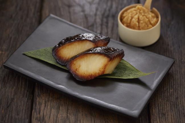 Yakimono - Black Cod Misoyaki from the charcoal grill