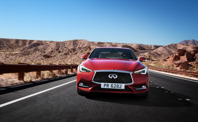 The Q60 is set to hit UK roads in October 2016.