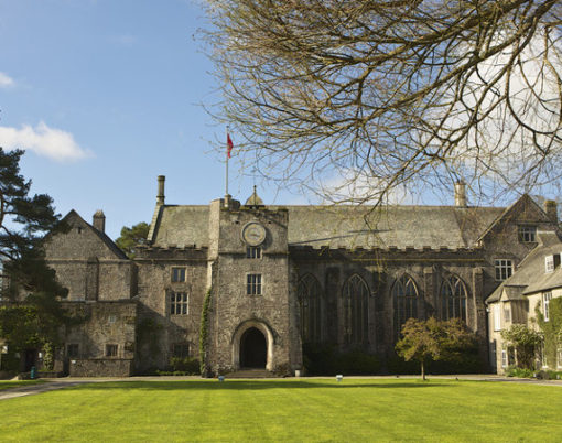Dartington Hall, near Totnes in Devon