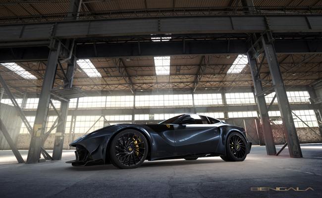Spanish design home add their twist to famous Ferrari model.