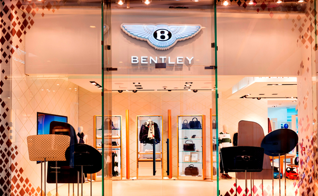Experience Bentley's personalisation in new westfield store.