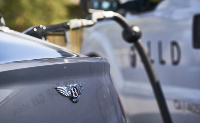 Bentley Motor Cars take a step forward with fuel innovation.