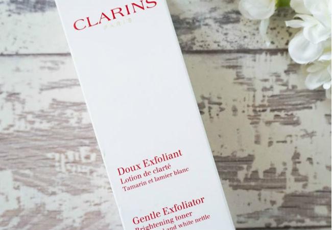 Clarins-gentle-exfoliator-brightening-toner-skincare