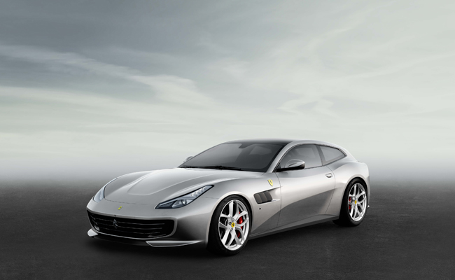 Just one of many models in display will be the GTC4LUSSO T model.