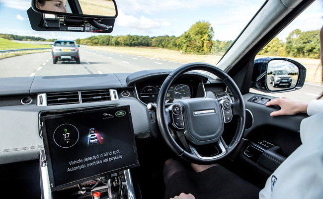 Technology evolution continues with the Jaguar Land Rover brand.
