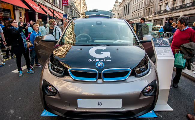 Regent Street set to boost e technology with annual motor show.