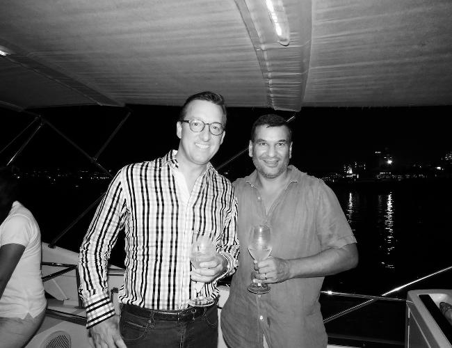 Tim Searle and Chirag Shah