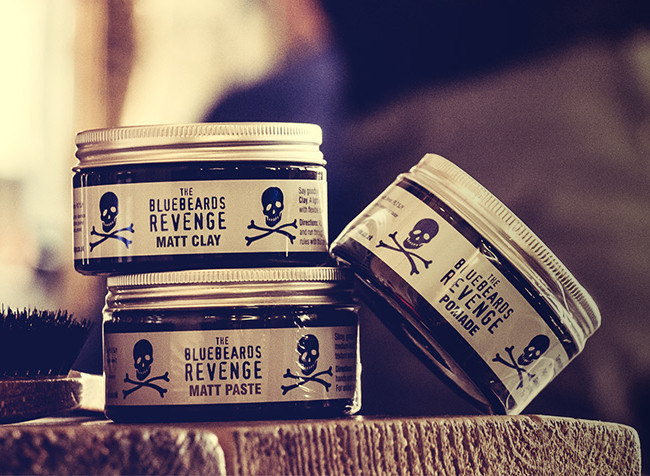bluebeards revenge hair styling products