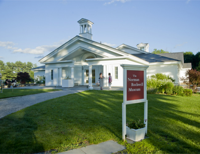 The Norman Rockwell Museum at Stockbridge.