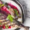 smoked mackerel recipe with beetroot and garlic aioli