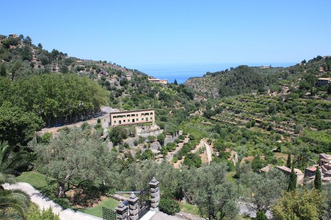 Deià is a small coastal village in the Serra de Tramuntana, which forms the northern ridge of the Spanish island of Mallorca