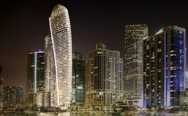 Set to hit Miami are the Aston Martin residences.