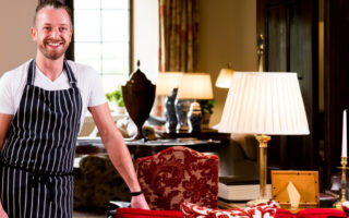 Nick Brodie from the Llangoed Hall Hotel in Wales
