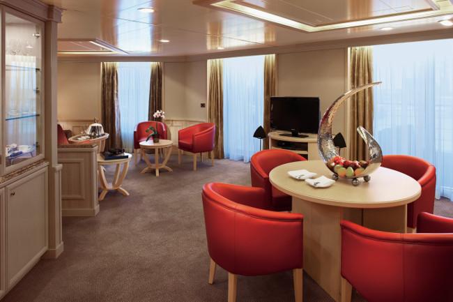 Grand Suite #901 Deck 9 Forward Silver Spirit - Silversea Cruises