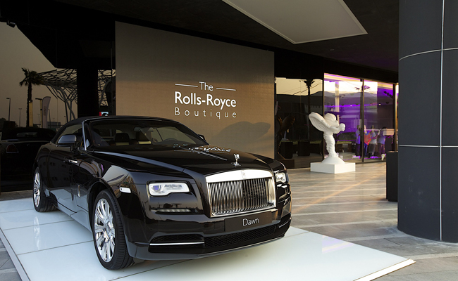 Dubai is home to the first Rolls-Royce Boutique.