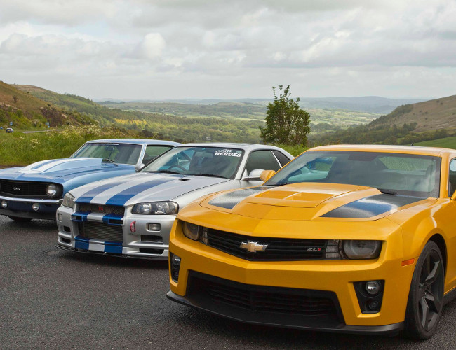 Triple Movie Car Driving Experience