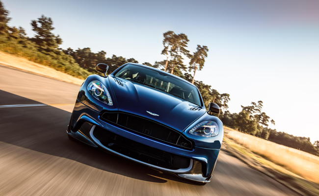 Luxury automotive manufacturers Aston Martin bolster their offerings further.