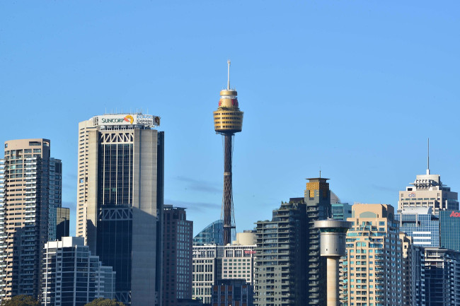 Sydney Tower is Sydney's tallest structure