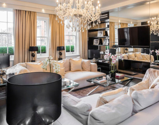 Alexander McQueen's London penthouse