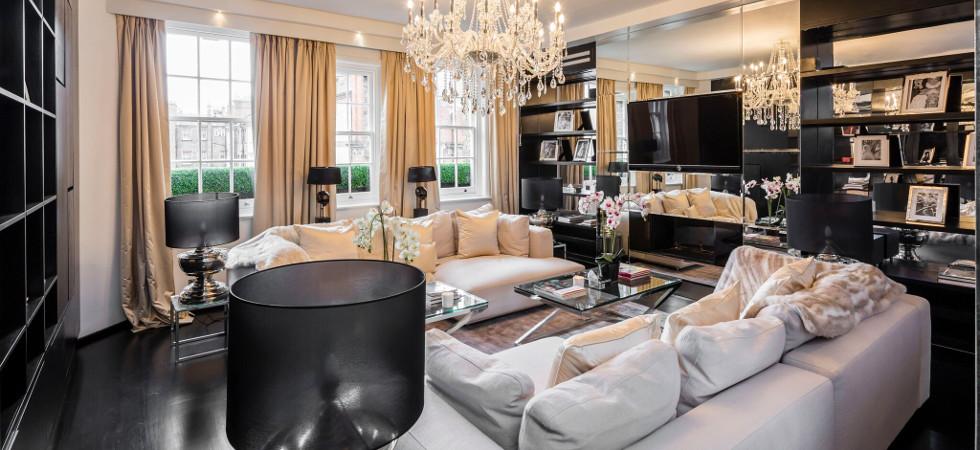 Alexander McQueen's London penthouse