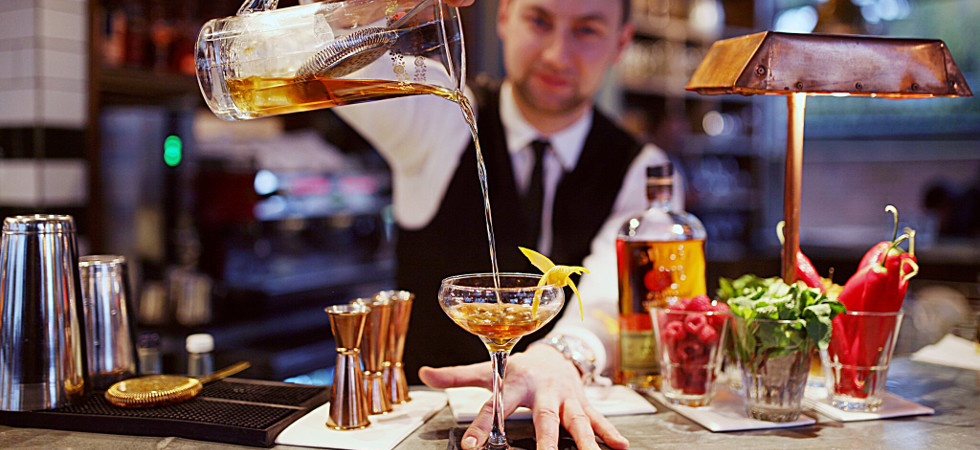 The Old Fashioned Bar, Chelsea in London