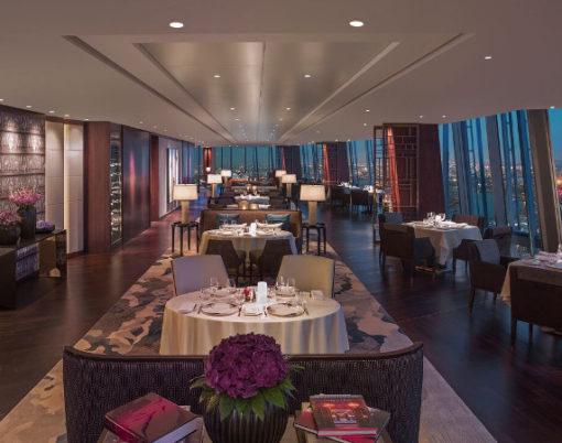 ting at Shangri-La Hotel at the shard