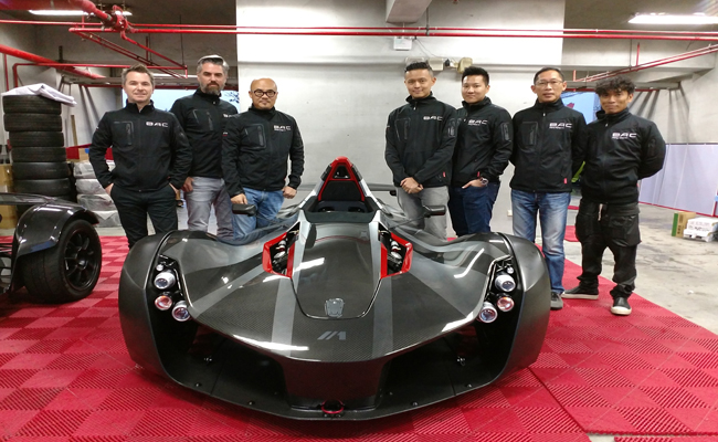 BAC Taiwan will sell from two locations: the capital city of Taipei and the major port city of Kaohsiung, which are both in close proximity of major racing circuits.
