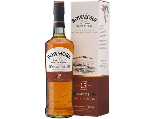 Bowmore 15 Year Old Darkest Islay Single Malt Scotch Whisky