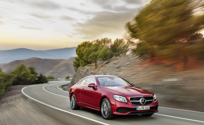After the world's most intelligent executive saloon, the Estate and the All-Terrain, the successful E-Class family now welcomes another new member: the Coupé.