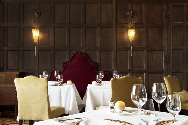 The Beaufort Dining Room at Ellenborough Park
