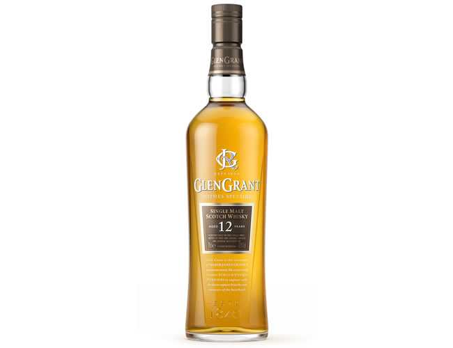 Glen Grant 12 Year Old  Speyside Single Malt Scotch Whisky (70cl)