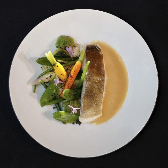 Food at Le Cinq Codet, Paris in France
