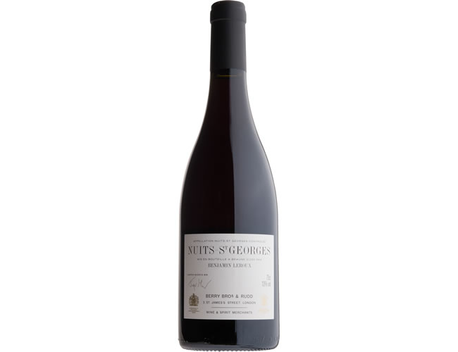 2012 Berry Bros. & Rudd Nuits-St Georges by Benjamin Leroux (75cl)