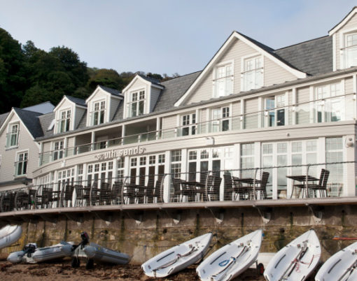 South Sands Hotel, Salcombe in Devon