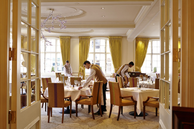 The Dining Room at The Goring, Victoria in London