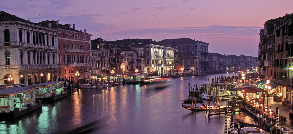 The Grand Canal CREDIT Archivio fotografico Regione Veneto Promozione turistica