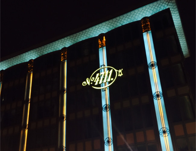 One of the most renowned perfume brands in Cologne, 4711.