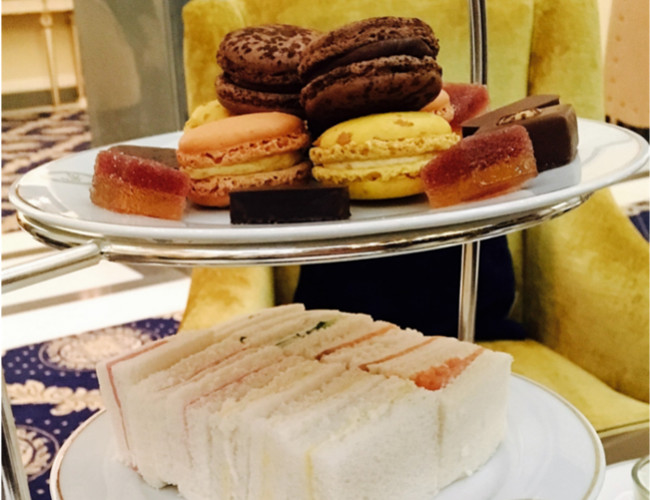 French star pastry chef, Pierre Hermé's famous macaroons.