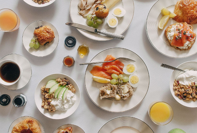 Breakfast at WestHouse Hotel New York