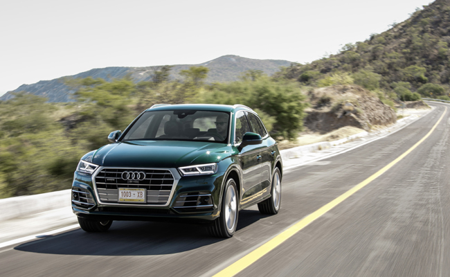 Audi introduce Q5 to the market for 2017.