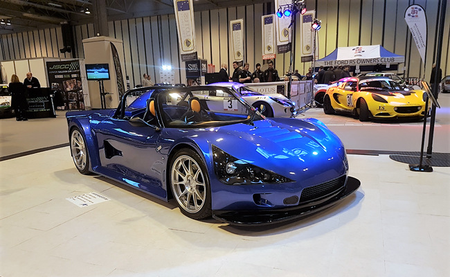 Seen here at Autosport International in Birmingham, the Avatar Roadster certainly cannot be missed on the road.