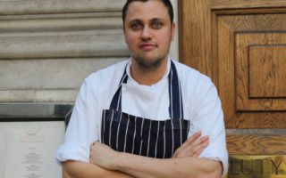 Daniel Mertl named new head chef at Fleet Street's Lutyens