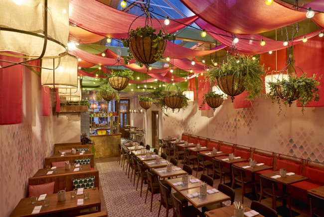 Restaurant review cinnamon bazaar covent garden in london luxury lifestyl - Covent garden magasin ...