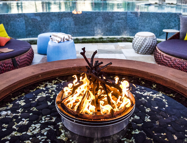 Fire Pit, Elements of Byron (photo: Elements of Byron)