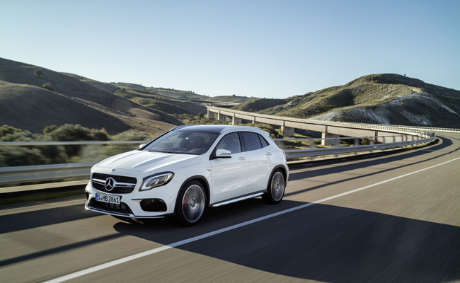 Looking as they mean to go on, Mercedes-Benz announce GLA is now on sale in the UK.