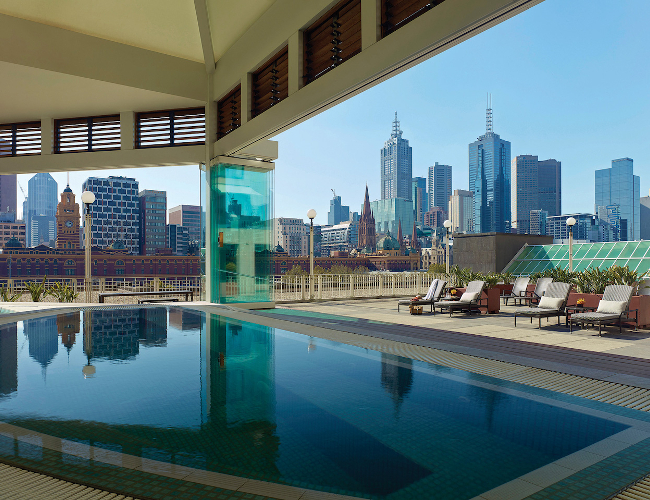 Langham Melbourne jacuzzi (photo: Langham Melbourne)