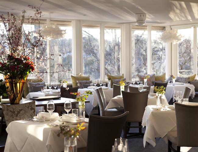 Lake House Daylesford restaurant (photo credit: Lake House)